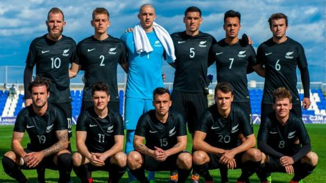 Football All Whites name experimental squad for Intercontinental Cup