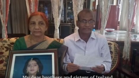 Savita's father calls for repeal as campaigns target undecided
