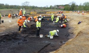 Archaeologists hit upon Neolithic ritual site in Suffolk