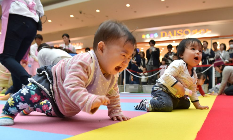 Childless couples are 'egocentric' says jap political leader
