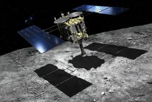 Japan's Hayabusa 2 spacecraft reaches cosmic 'diamond'