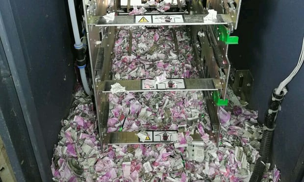 Rats smash into Indian ATM and chew up cash really worth £thirteen,300