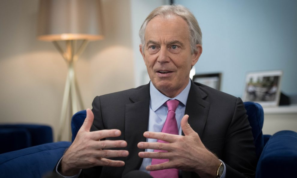 Tony Blair, go back to dark Thirties politics not a long way-fetched