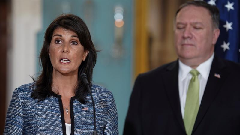 US quits UN human rights council – 'a cesspool of political bias