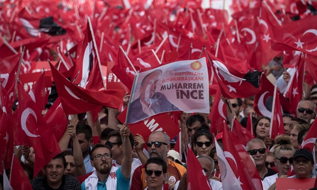 'humans are smiling once more' competition reveals its voice before Turkish elections