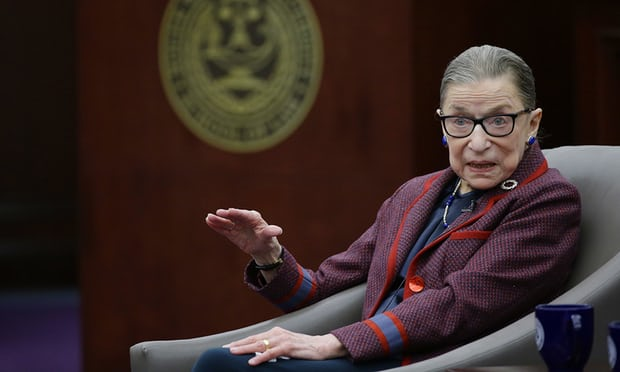 'Flaming feminist' Ruth Bader Ginsburg wants five more years – at least