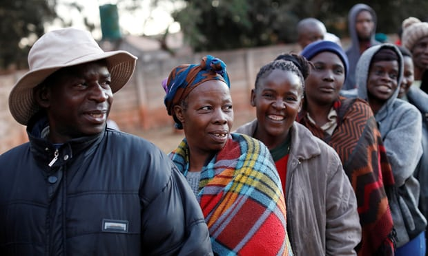 Zimbabwe election, polls open in first vote due to the fact that Robert Mugabe's elimination