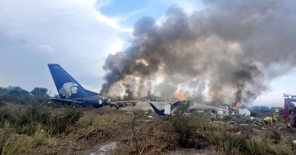 Mexico plane crash, 103 humans onboard but all survived, say officials