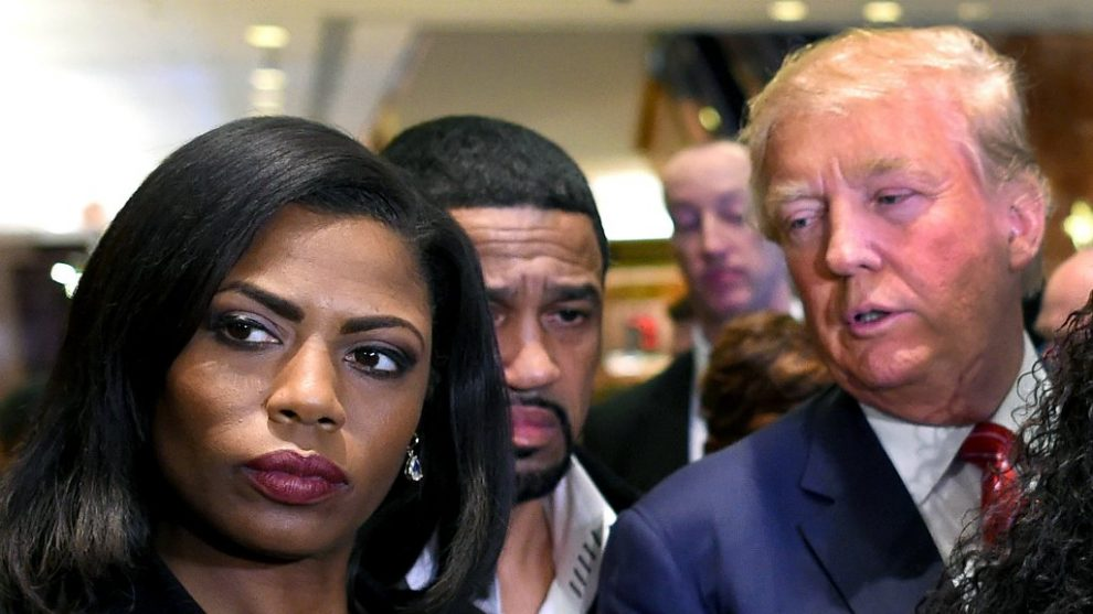 Trump hits again after Omarosa releases secret recording of president