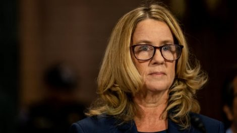 Christine Blasey Ford's beginning announcement in complete