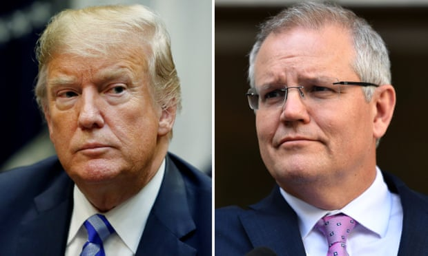 'I think we each get it' Scott Morrison professes admiration for Trump
