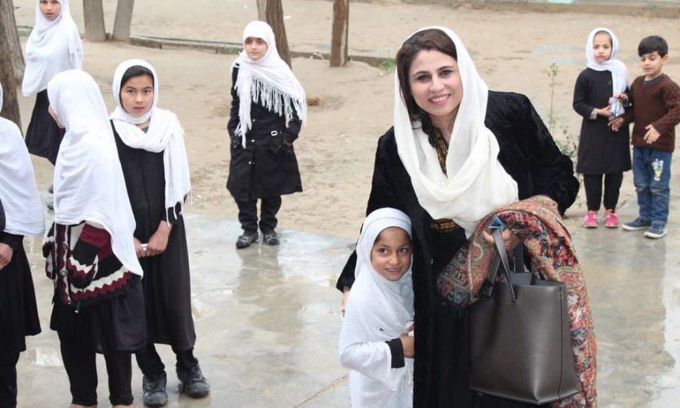 Struggle took a heavy toll on her circle of relatives. Now she is combating .. for Afghan democracy