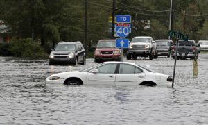 Wilmington reduce off from North Carolina by means of Florence flooding