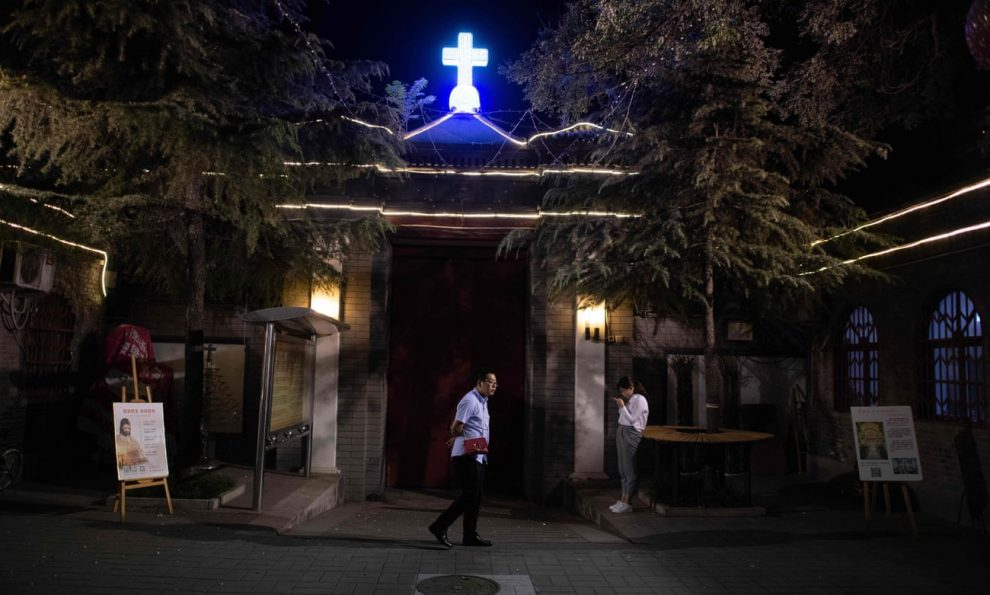 'we're scared, however we've got Jesus', China and its struggle on Christianity
