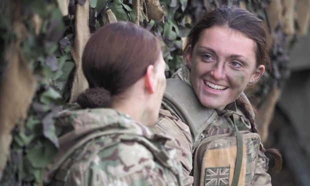 All roles in united kingdom military to be open to girls, Williamson declares