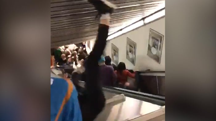 Rome escalator fall apart activates calls for citywide tests